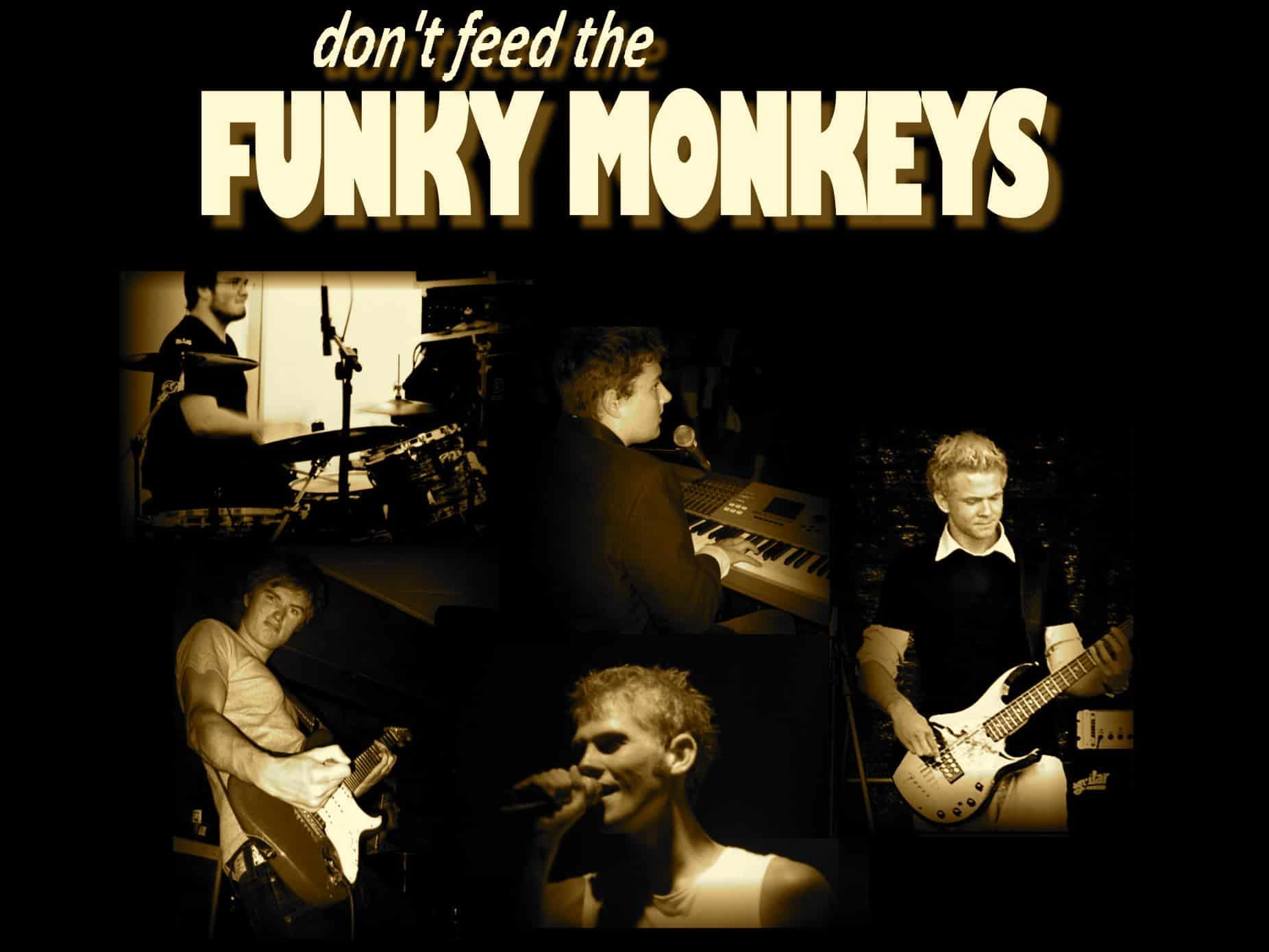 Funky Monkeys - Book populært kopiband fra Aalborg