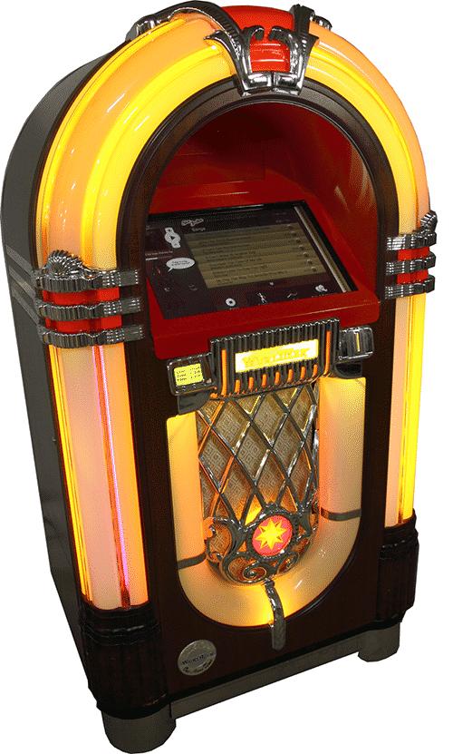Jukeboxen Sir Juke Retro i klassisk design